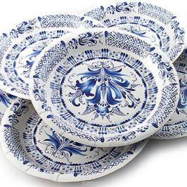 Набор одноразовых тарелок Эврика