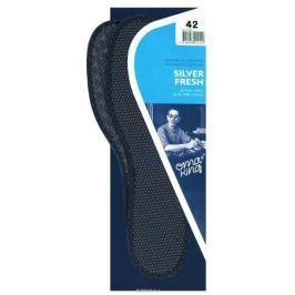 Стелька OmaKing Silver Fresh, цвет: черный. Т-120-47. Размер 46/47
