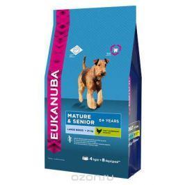 Корм Eukanuba Dog для пожилых собак крупных пород 4 кг