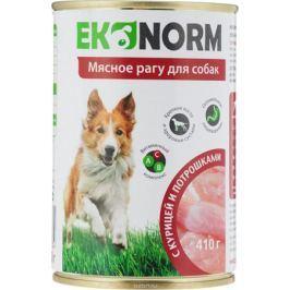 Корм консервированный для собак Ekonorm