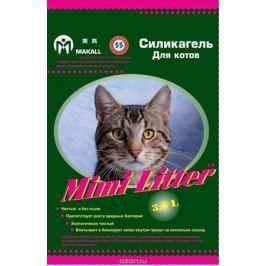 Mimi Litter Наполнитель силикагелевый для кошачьего туалета для котов (зеленые гранулы) 3,6 л (1,81кг)