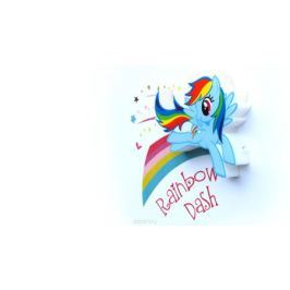 3DLightFX Настенный 3D cветильник MLP Mini Rainbow Dash