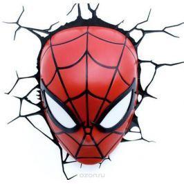 3DLightFX Настенный 3D cветильник Spiderman Mask