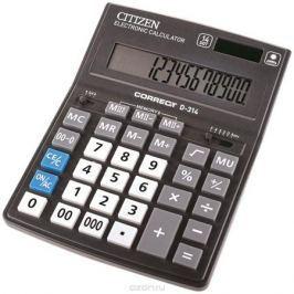 Citizen Настольный калькулятор D-314