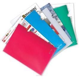 Brauberg Папка-уголок цвет красный 221640