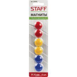 Staff Магнит для досок 2 см 6 шт
