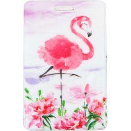 Бейдж Фламинго 6,5 х 10 см