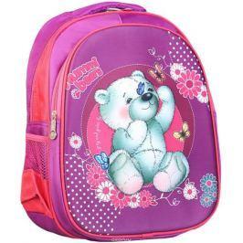 Рюкзак детский Мишка цвет фиолетовый 2820286
