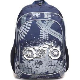 4ALL Рюкзак School цвет темно-синий