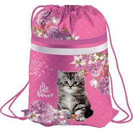 Berlingo Мешок для обуви Kitten цвет розовый