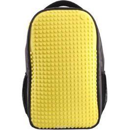 Upixel Пиксельный рюкзак для ноутбука цвет желтый