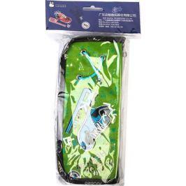 Calligrata Пенал школьный Кроссовок цвет зеленый 2923594