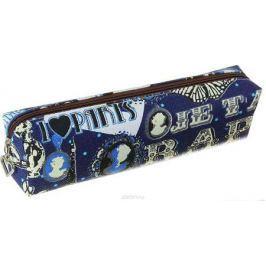 Calligrata Пенал школьный Париж цвет голубой