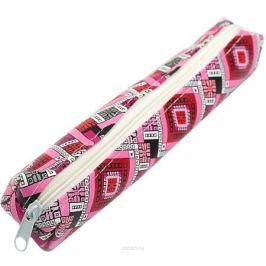 Calligrata Пенал школьный Орнамент цвет розовый 2879219 Пеналы