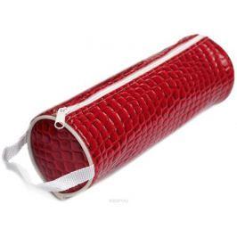 Calligrata Пенал школьный Крокодил цвет красный 2879268