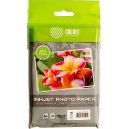 Cactus CS-GA618050ED A6/180г/м2 глянцевая фотобумага для струйной печати (50 листов)