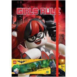 LEGO Batman Movie Блокнот Бэтгерл и Харли Квинн96 листов в линейку