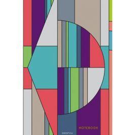 Канц-Эксмо Блокнот Графика Цвет и стиль 130 листов в клетку формат А5