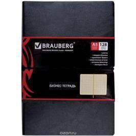 Brauberg Блокнот Black Jack 128 листов в клетку цвет черный 125240