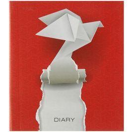 Эксмо Ежедневник Графика Полет идей ляссе A5 160 листов цвет красный