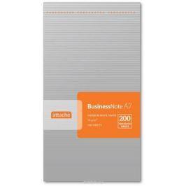 Attache Блокнот 100 листов формат А7 цвет серебристый 212945