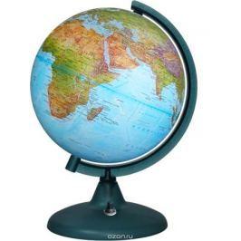 Глобусный мир Глобус с географической картой мира рельфный с подсветкой диаметр 21 см