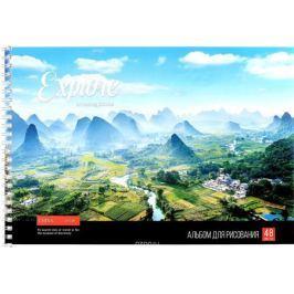 ArtSpace Альбом для рисования Китай 48 листов