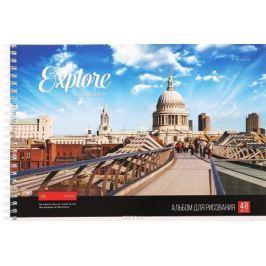 ArtSpace Альбом для рисования Лондон 48 листов
