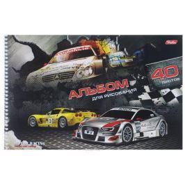 Hatber Альбом для рисования Motor Racing 40 листов 09581