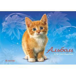 Апплика Альбом-планшет для рисования Рыжий котенок 30 листов