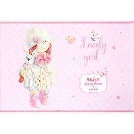 ArtSpace Альбом для рисования Lovely Girl Девочка с зайцем 8 листов