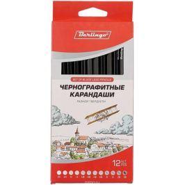 Berlingo Набор чернографитных карандашей 12 шт