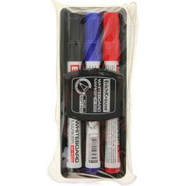 Erich Krause Набор маркеров для доски W-500 c губкой 3 цвета