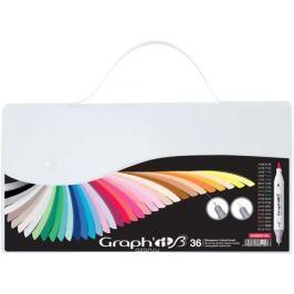 Graph'It Набор маркеров Graph'It Brush основные цвета 36 шт