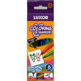 Luxor Фломастеры 6 цветов