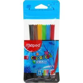 Maped Набор фломастеров Color'Peps Ocean смываемые 6 цветов