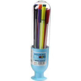 Набор фломастеров Вазочка цвет упаковки голубой 12 цветов 2870479