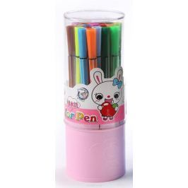 Набор фломастеров Полоски цвет упаковки розовый 24 шт 641145