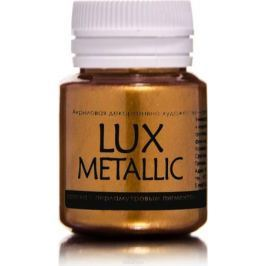 Luxart Краска акриловая LuxMetallic цвет золото красное 20 мл