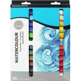 Daler Rowney Набор акварельных красок Simply 24 цвета 12 мл