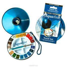 Daler Rowney Дорожный набор акварельных красок Aquafine 18 цветов