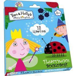 Ben&Holly Пластилин восковой Бен и Холли 12 цветов