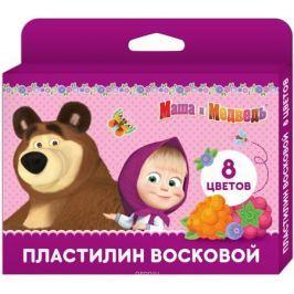 Маша и Медведь Пластилин 8 цветов