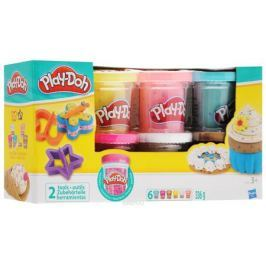 Play-Doh Набор пластилина Конфетти 6 цветов