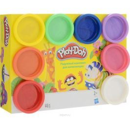 Play-Doh Rainbow Color Pack, Пластилин 8 цветов